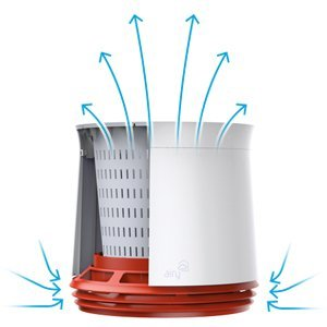 Oczyszczacz powietrza bioaktywny doniczka Airy
